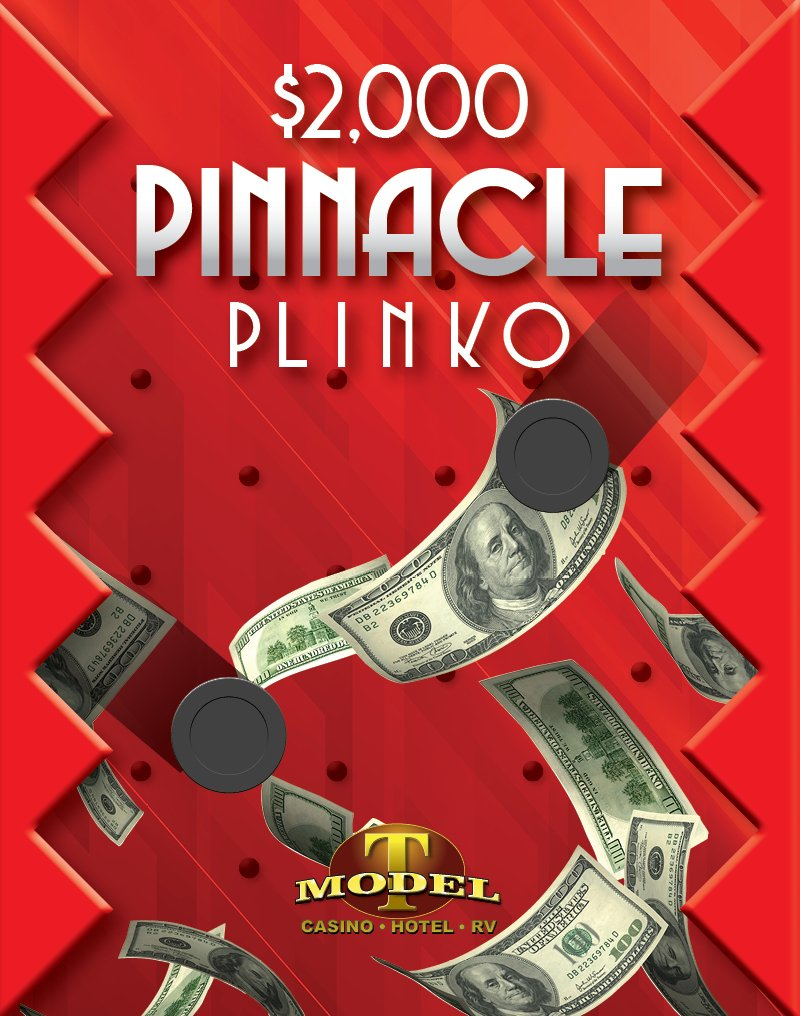 $2,000 Pinnacle Plinko